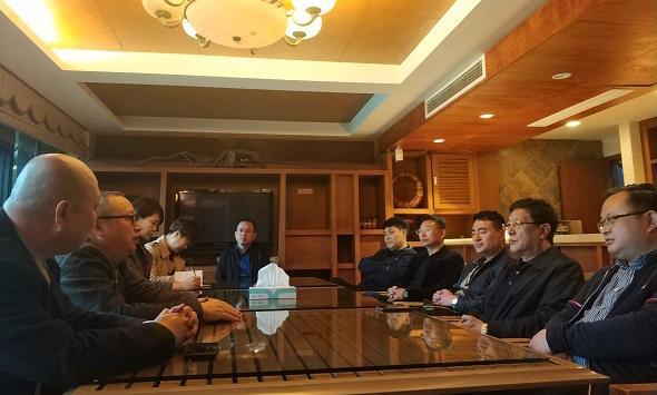 招商促进会招商团赴杭州上海开展招商活动